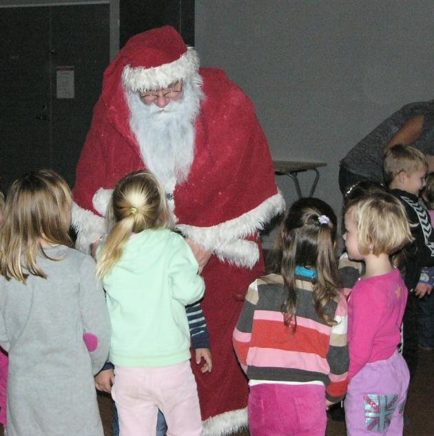 En snak med Julemanden