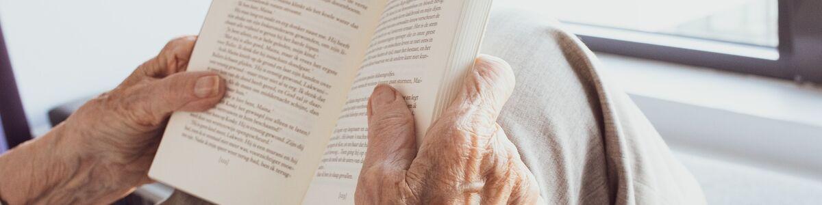 Biblioteket kan levere bøger og lydbøger til hjemmet