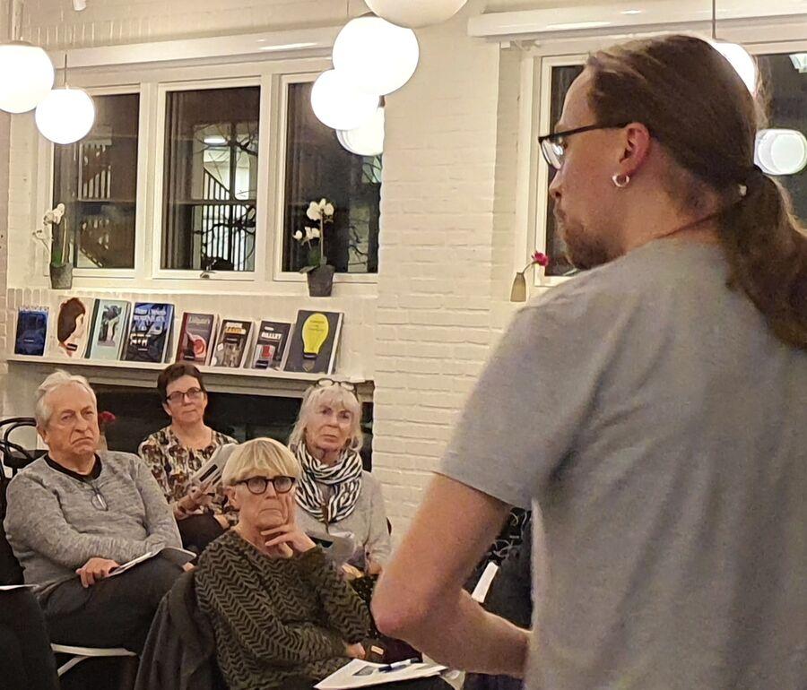 Andreas fortæller om tegneserier