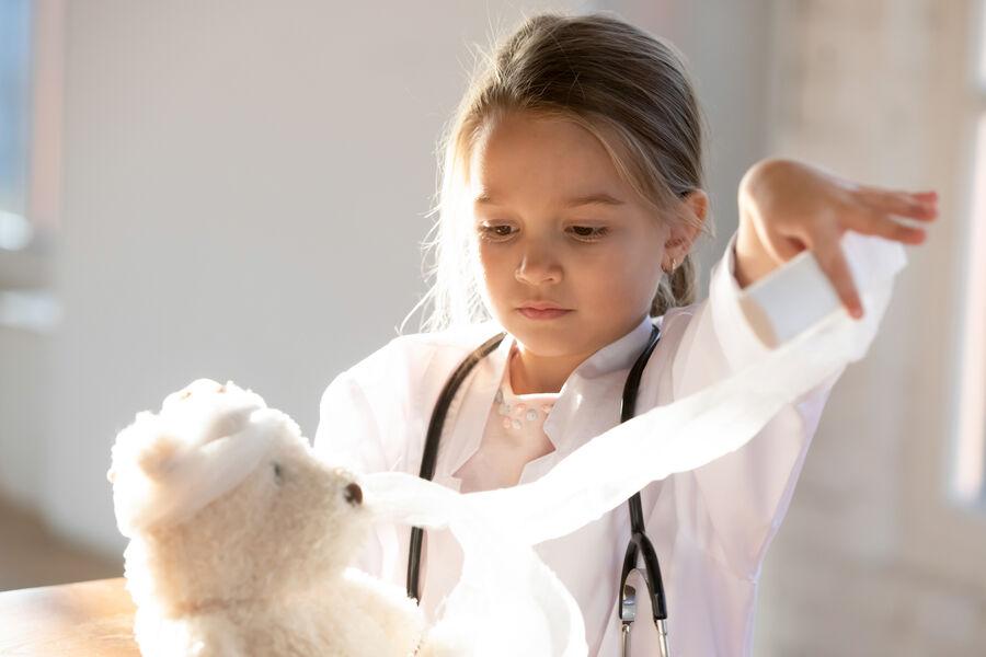 Bliv bamselæge