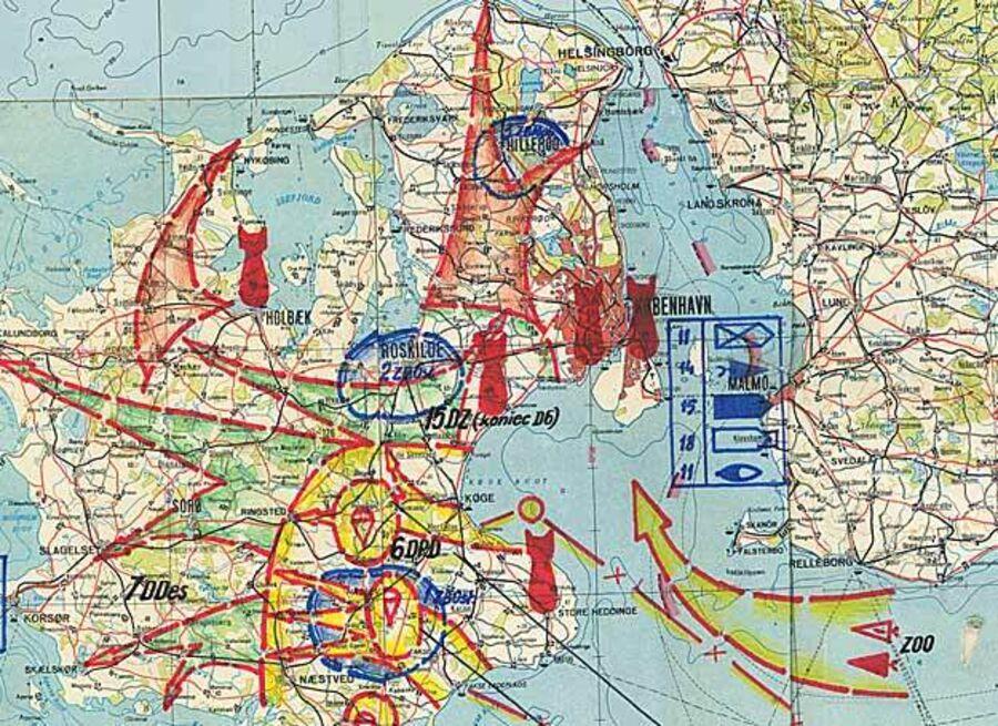 Warszawa-pagtens plan for angreb på Sjælland